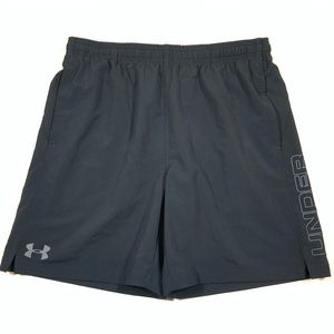 NWT Under Armour Shorts Size XL Black and Gray